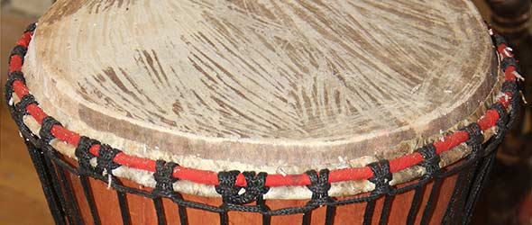 African Drum – Djembe – Hand Carved