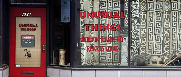 Welcome To 'Unusual Things'